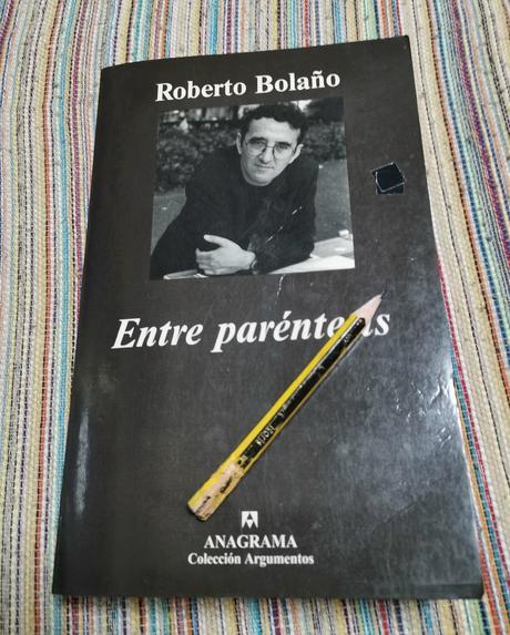 ENTRE PARÉNTESIS: UNA CITA DE ROBERTO BOLAÑO
