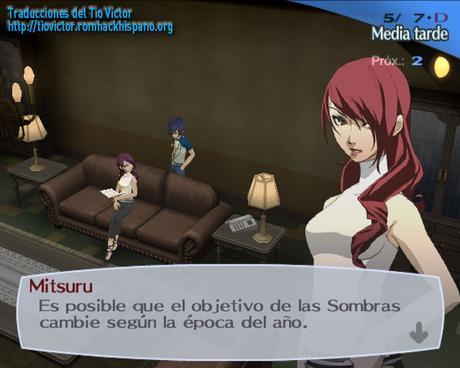 Shin Megami Tensei: Persona 3 FES de PlayStation 2 traducido al español