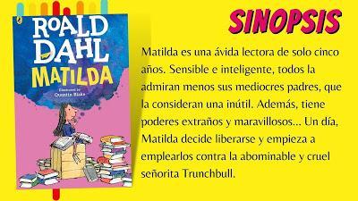 CONCURSO DE RELATOS XXVII EDICIÓN: MATILDA de ROALD DAHL