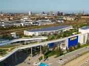 Dorte Mandrup diseña tienda IKEA Copenhague parque azotea