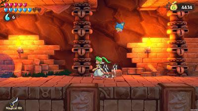 Impresiones con Wonder Boy: Asha in Monster World, un bocado del pasado en tu consola de última generación