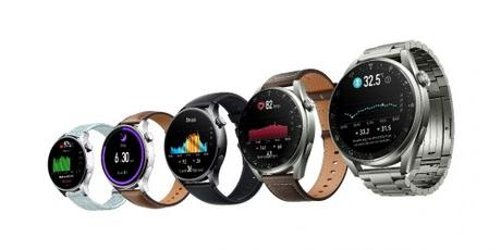 Huawei Watch 3 y Watch 3 Pro presentados con Harmony OS
