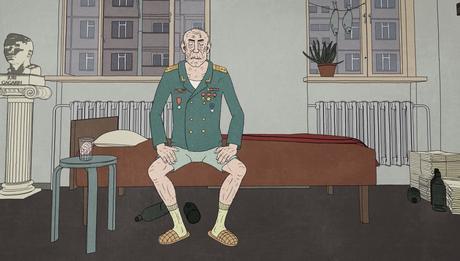 'Cosmonaut', corto animado
