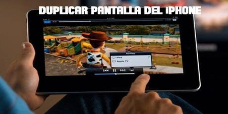 Aplicación o programa para duplicar pantalla en iPhone o iPad gratis