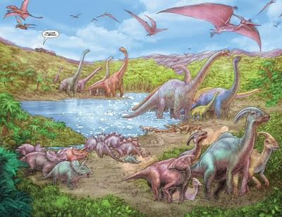 Los mundos prehistóricos de Juanjo Ryp