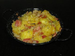 BRATKARTOFFELN (Patatas al estilo alemán)