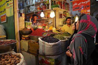 Shopping time at the bazaar