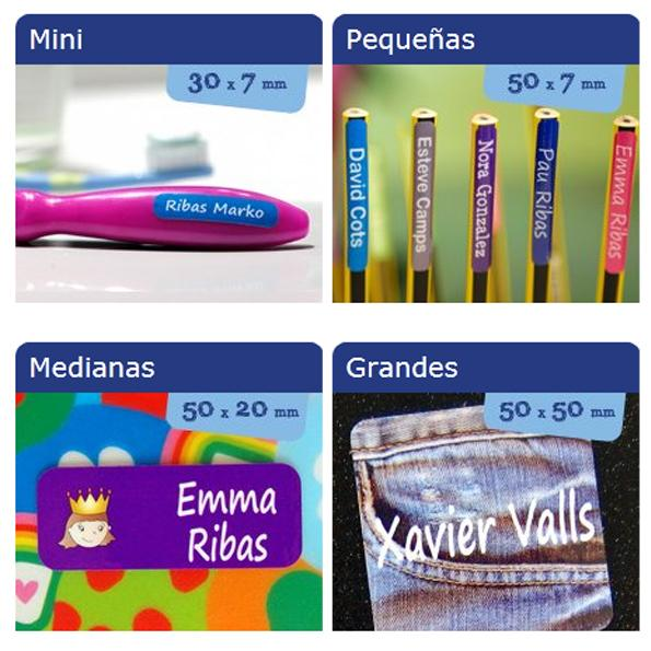 Etiquetas para marcar la ropa con Stikets