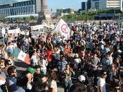 Solo 4.000 personas manifestaron Monterrey contra atentado casino.