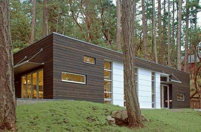 Casas minimalistas en el bosque paperblog for Casa minimalista uy