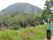 Trekking selva hacia cima morro calzada