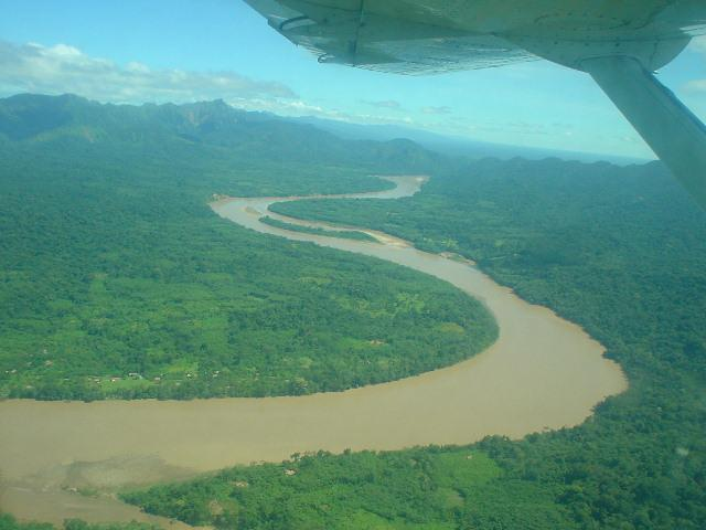 Vistas del vuelo a Rurrenabaque