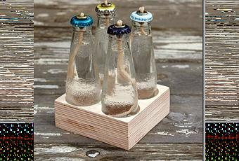 Una antorcha de jard n para una mesa paperblog for Antorcha para jardin