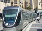 servicio tranvía Jerusalén