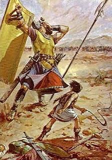 Dwayne Johnson y Taylor Lautner en la película de 'David contra Goliat'