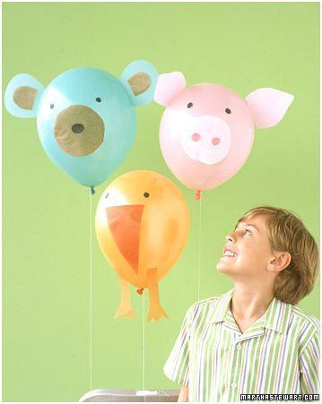 Pero si hay un momento en el que los globos pueden ser la elección