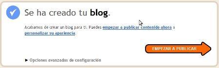 Cómo crear un blog en Blogger