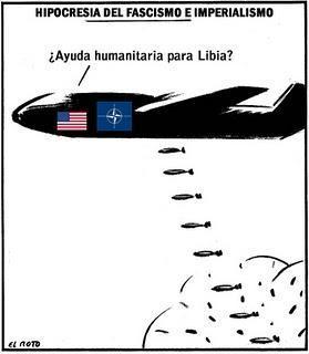 INFAMIA y MENTIRAS para justificar el genocidio de la OTAN en LIBIA