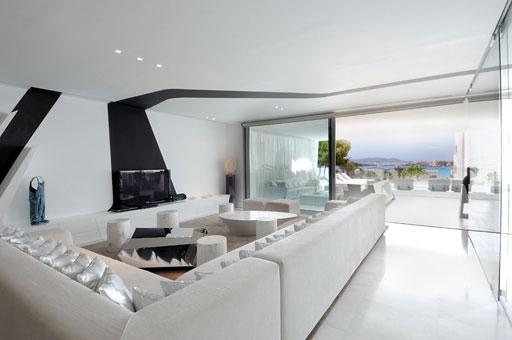 A cero presenta el interiorismo 2 3 de una lujosa urbanizaci n ibicenca paperblog - Interiorismo salones modernos ...