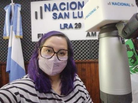 Elina Gómez Martin, nos entrevistó para Radio Nacional San Luis