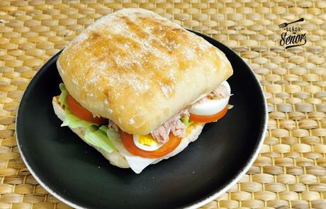 Sandwich vegetal, un clásico de los bares