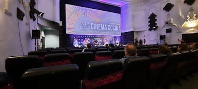 ESTRENO DEL DOCUMENTAL GAZPACHUELO EN EL FESTIVAL DE CINE DE MÁLAGA ( CINEMA COCINA)