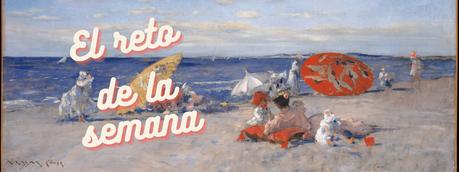 El reto de la semana: At the Seaside, de William Merritt Chase