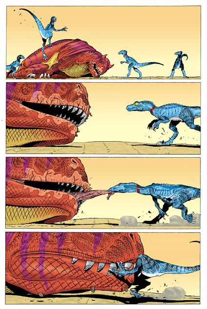 Dinocómics (IX): La era de los reptiles