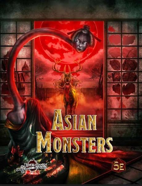 Asian Monsters Preview PDF (5E), de Legendary Games
