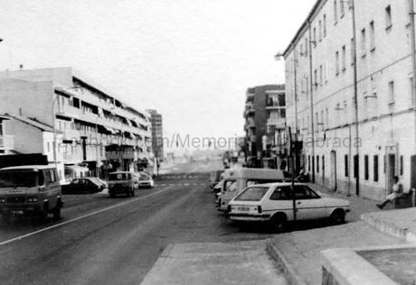 La calle de Leganés a inicios de los 80