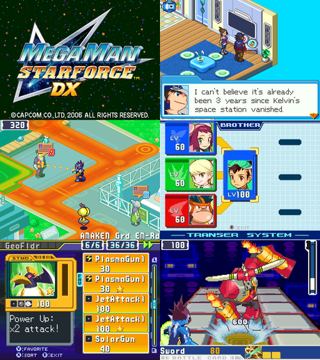 [Hack] Mega Man Star Force DX (Nintendo DS)
