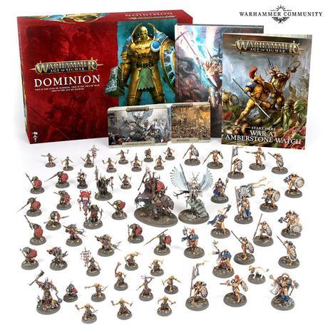 Anunciados los pre-pedidos de la semana que viene en GW: Dominion y mas