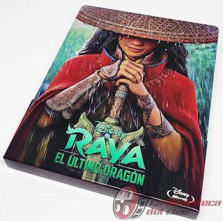 Raya y el último dragón; Reportaje fotografico y detalles de la edición