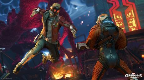 Presentado Marvel's Guardians of the Galaxy