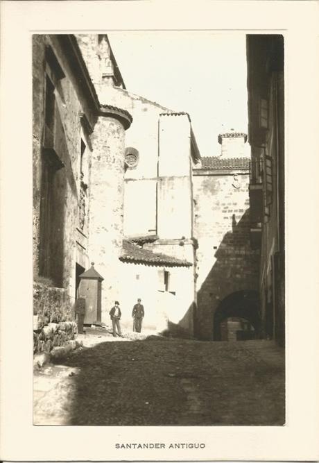 ¿La calle más antigua de Santander?