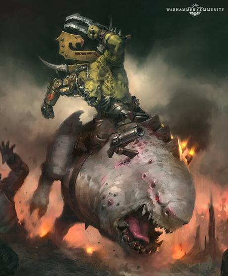 Resumen ampliado de la actividad de Warhammer Community