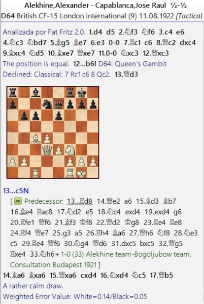 Lasker, Capablanca y Alekhine o ganar en tiempos revueltos (70)