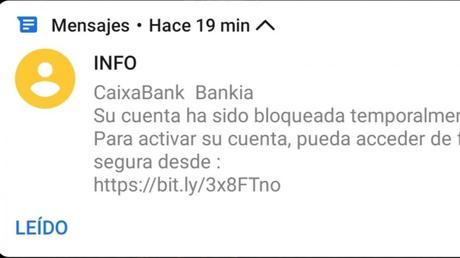 CaixaBank alerta a sus clientes de una nueva ciberestafa aprovechando su fusión con Bankia