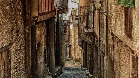 Las calles de Miranda del Castañar