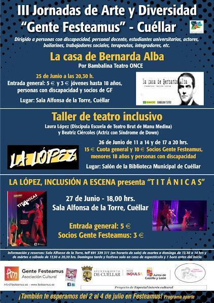 III Jornadas de Arte y Diversidad, Impartido por Laura López, por Manu Medina