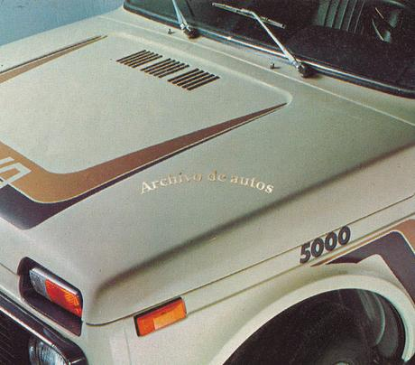 Lada Niva 5000, una versión deportiva del todoterreno del año 1983