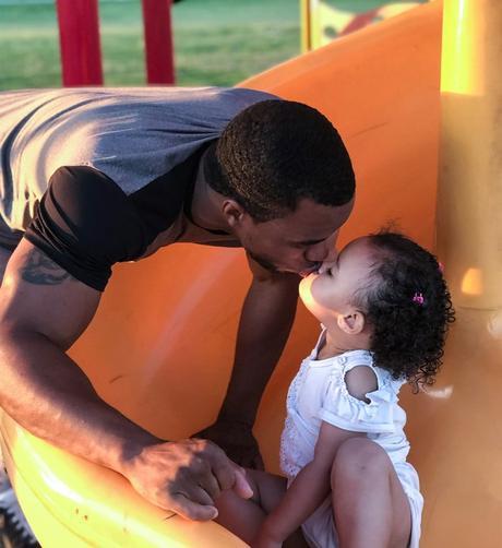 Culturismo en equipo.  com Día del padre: Myree Bowden