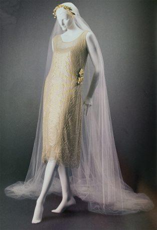 Catharine Harding: Un vestido de novia adelantado a su época