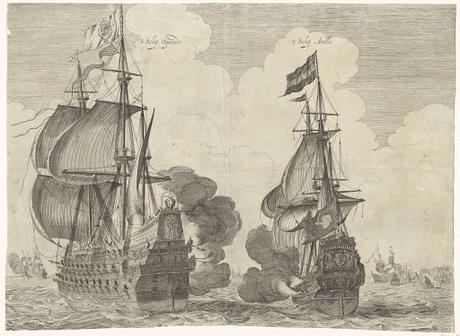 1631, EL ALMIRANTE OQUENDO DERROTA A LA ESCUADRA HOLANDESA