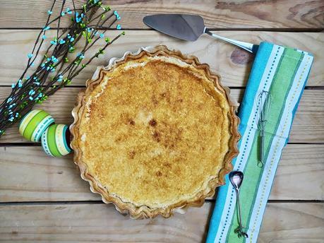 Tarta de coco y mango. Postre fácil, rico, sencillo, fresquito, para el verano, summer, coconut Cuca