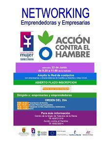 Encuentro de mujeres emprendedoras y empresarias. Networking Centro de la Mujer de Talavera y Acción contra el Hambre