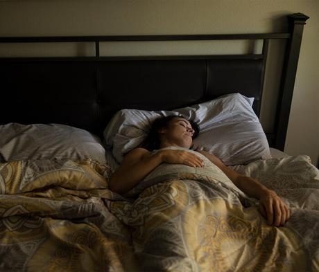 Dormir bien por la noche.