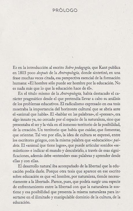 EMILIO LLEDÓ HABLA DE EDUCACIÓN