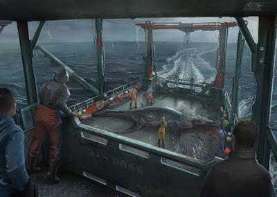 Pescando bestias marinas del pasado con Anthony James Hutchings