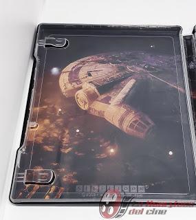 Han Solo, Una historia de Star Wars; Fotoreportaje de la edición Bluray Steelbook